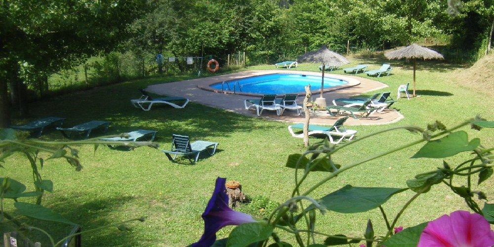 Casa rural amb piscina